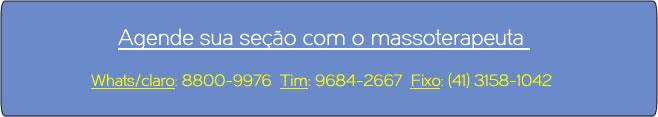 Massagem em Curitiba